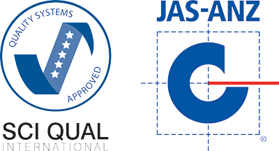 SCI-QUAL International and JAS-ANZ approved
