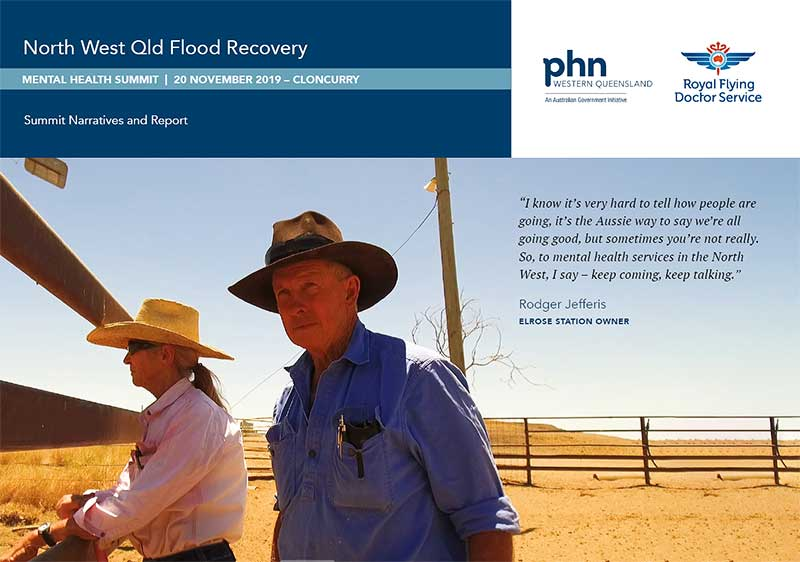 NW Qld Flood Recovery Summit Narratives and Report